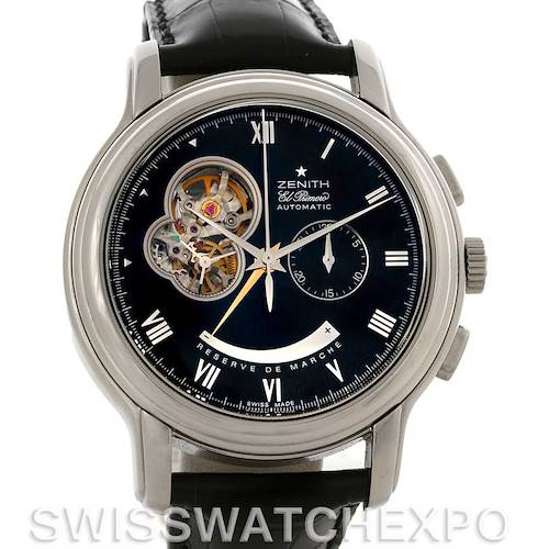 Photo of Zenith 03.1260.4021/21.C505 Chronomaster XXT Open NOS
