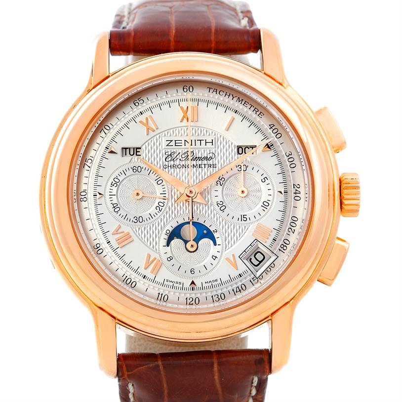 Photo of Zenith El Primero Chronomaster T Rose Gold Watch 17.0240.410/01