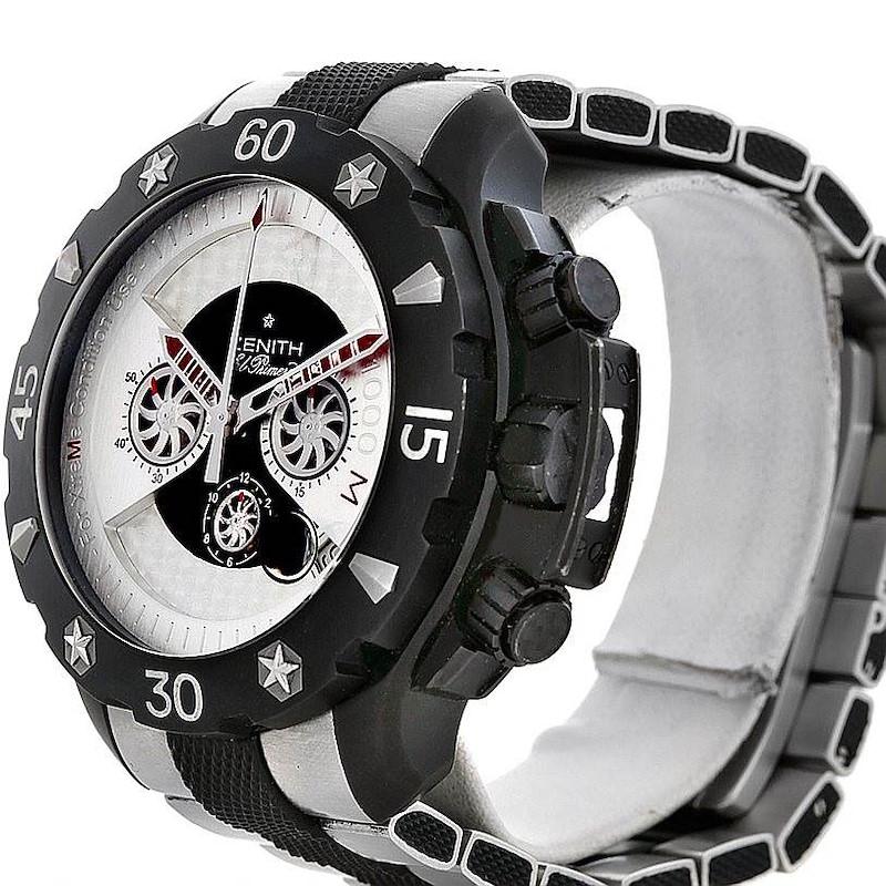 Zenith Defy Xtreme Open Chronograph Mens Watch 96.0525.4000 SwissWatchExpo