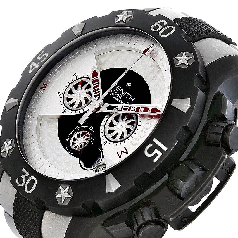 5626 Zenith Defy Xtreme Open Chronograph Mens Watch 96.0525.4000 SwissWatchExpo