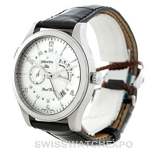 Zenith Grande Class Reserve De Marche Dual Time Watch 03.0520.683/01.C492 SwissWatchExpo