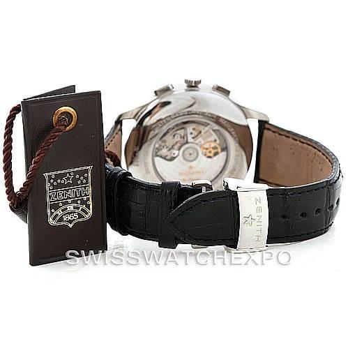 7193 Zenith Grande Class El Primero Men's Watch 03.0520.4002 Unworn SwissWatchExpo