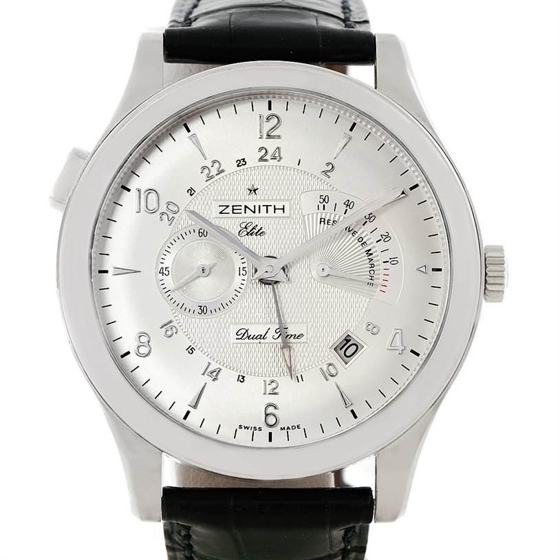 Zenith Grande Class Reserve De Marche Dual Time Watch 03.0520.683/01.C492