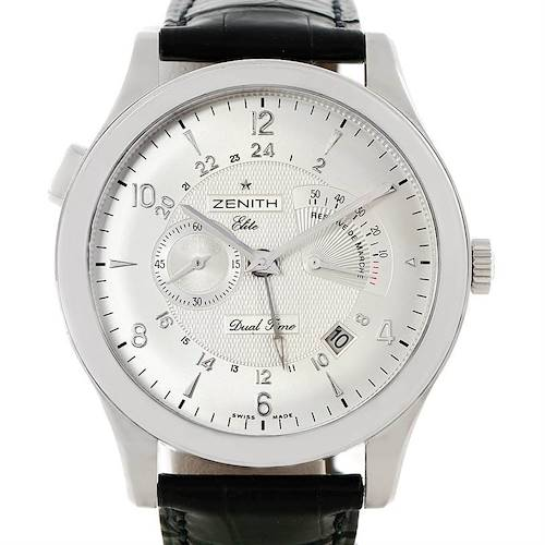 Photo of Zenith Grande Class Reserve De Marche Dual Time Watch 03.0520.683/01.C492