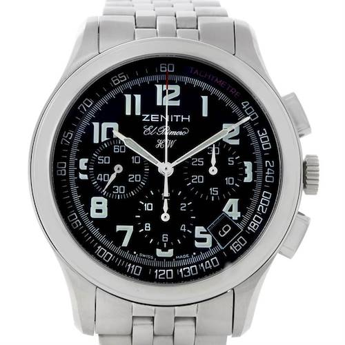 Photo of Zenith El Primero Stainless Steel Mens Watch 02-05004-20