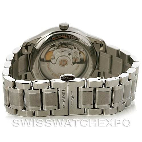 2864 Longines Master Automatic GMT Men's Watch L2.631.4.51.6 SwissWatchExpo