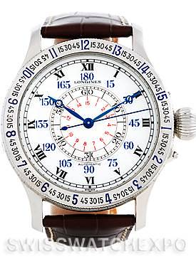 Photo of Longines Heritage Lindberg Hour Angle Mens Watch L2.678.4.11.0