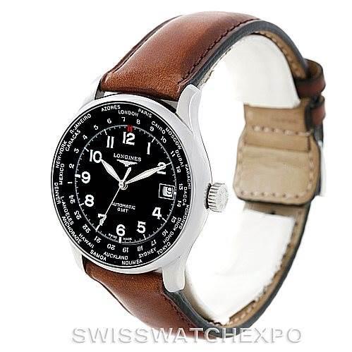 Longines Master Automatic GMT Mens Watch L2.631.4 SwissWatchExpo