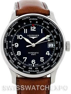 Photo of Longines Master Automatic GMT Mens Watch L2.631.4