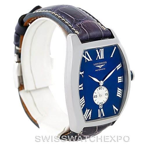7104 Longines Evidenza Mens Steel Watch L2.631.4 SwissWatchExpo