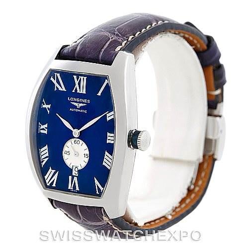 Longines Evidenza Mens Steel Watch L2.631.4 SwissWatchExpo