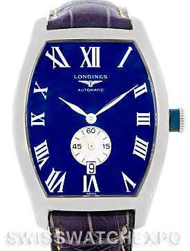 Photo of Longines Evidenza Mens Steel Watch L2.631.4
