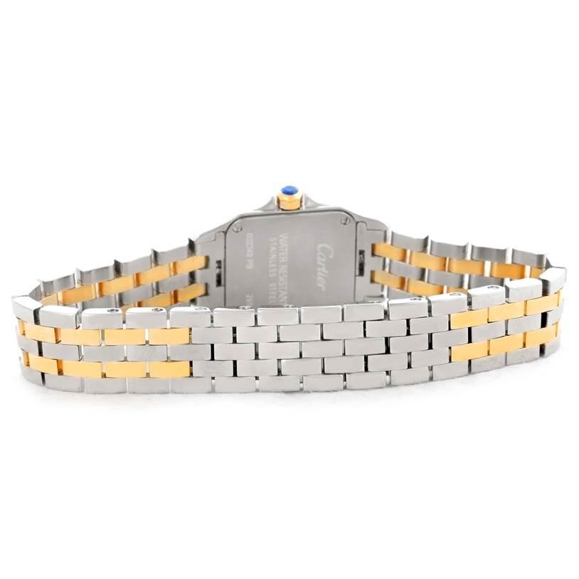 8716 Cartier Santos Demoiselle Steel Yellow Gold Small Watch W25066Z6 SwissWatchExpo