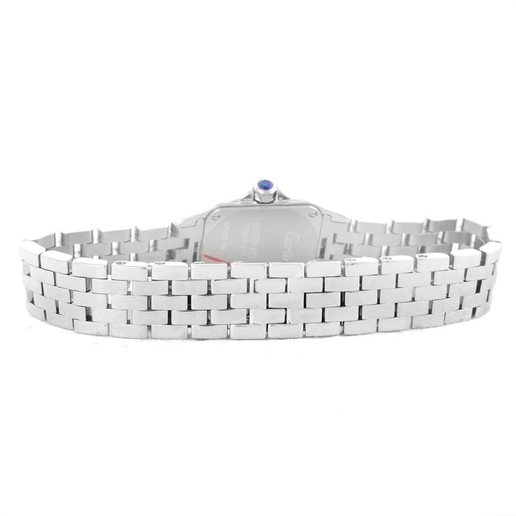 10793 Cartier Santos Demoiselle Steel Silver Dial Small Watch W25064Z5 SwissWatchExpo