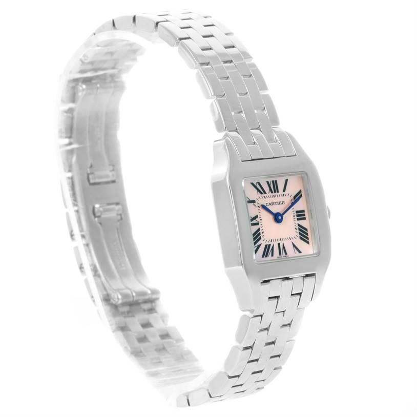 12025 Cartier Santos Demoiselle Stainless Steel Ladies Watch W25075Z5 SwissWatchExpo