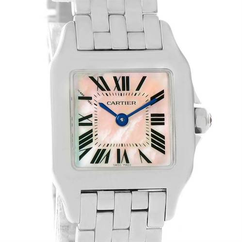 Photo of Cartier Santos Demoiselle Stainless Steel Ladies Watch W25075Z5