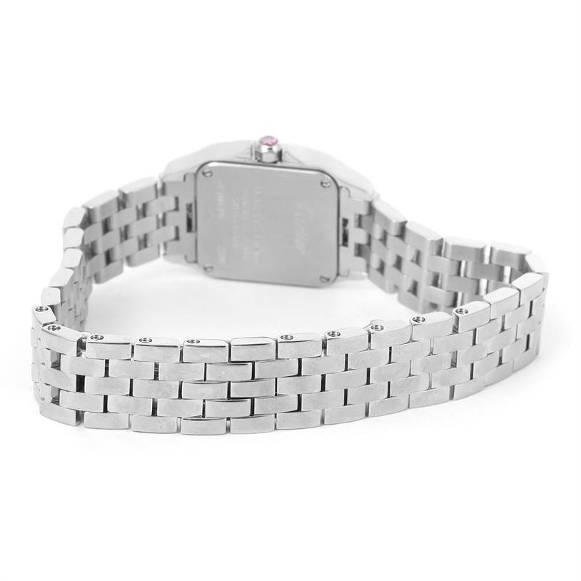 12030 Cartier Santos Demoiselle Mother Of Pearl Watch W25075Z5 Box Papers SwissWatchExpo
