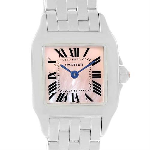 Photo of Cartier Santos Demoiselle Mother Of Pearl Dial Ladies Watch W25075Z5