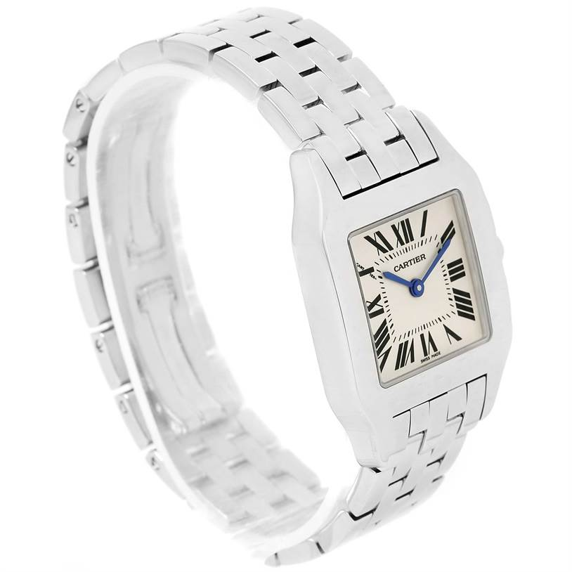 5806A Cartier Santos Demoiselle Stainless Steel Midsize Watch W25065Z5 SwissWatchExpo