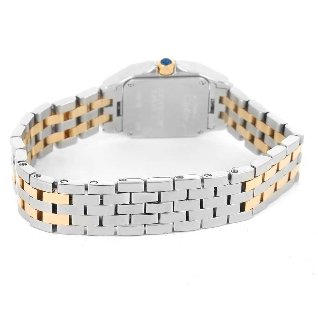 12171 Cartier Santos Demoiselle Steel Yellow Gold Ladies Watch W25066Z6 SwissWatchExpo