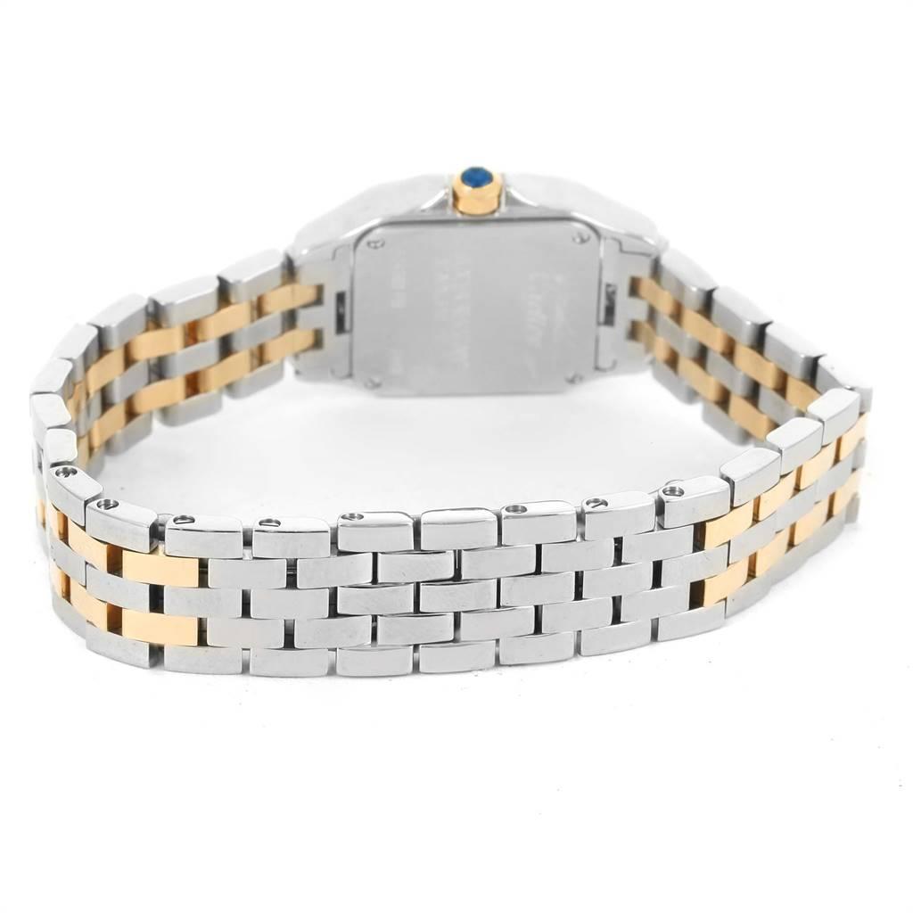 Cartier Santos Demoiselle Steel Yellow Gold Ladies Watch W25066Z6 SwissWatchExpo