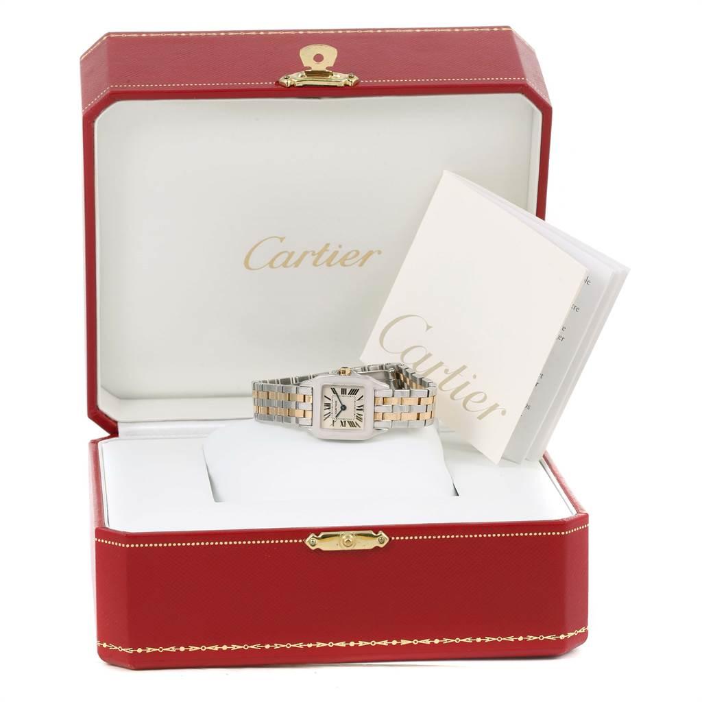 10450 Cartier Santos Demoiselle Steel Yellow Gold Ladies Watch W25066Z6 SwissWatchExpo