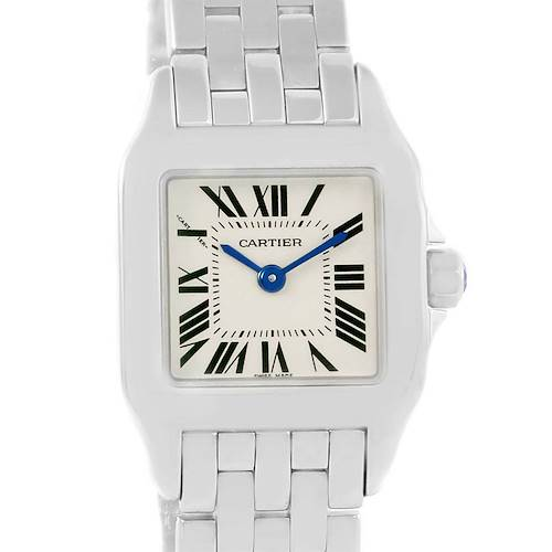Photo of Cartier Santos Demoiselle Stainless Steel Small Ladies Watch W25064Z5