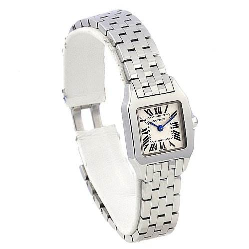 2273 Cartier Santos Demoiselle Ladies Stainless Steel Watch W25064z5 SwissWatchExpo