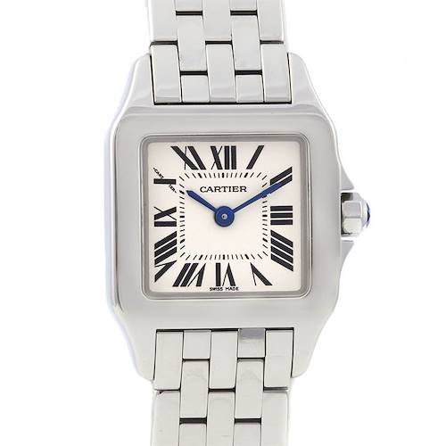 Photo of Cartier Santos Demoiselle Ladies Stainless Steel Watch W25064z5