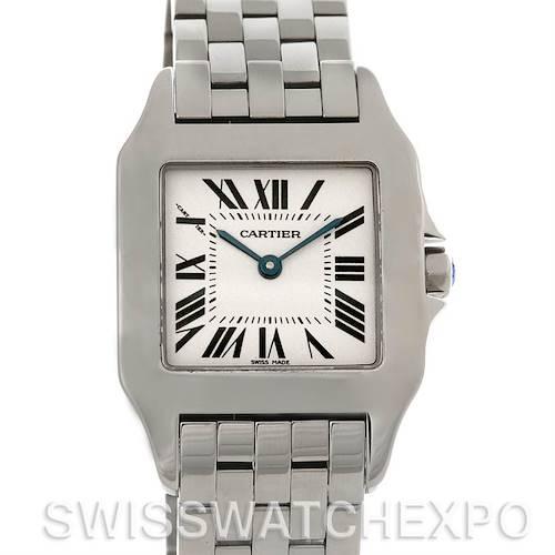 Photo of Cartier Santos Demoiselle Steel Midsize Watch W25065Z5