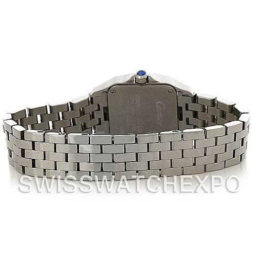 4201 Cartier Santos Demoiselle Steel Ladies Watch W25064Z5 SwissWatchExpo
