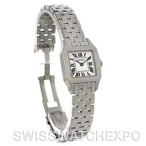 4561 Cartier Santos Demoiselle Steel Ladies Watch W25064Z5 SwissWatchExpo