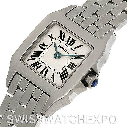 4561 Cartier Santos Demoiselle Steel Ladies Watch W25064Z5 SwissWatchExpo