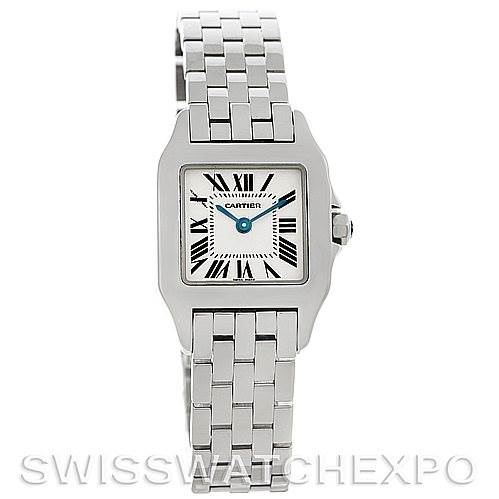 5165 Cartier Santos Demoiselle Steel Ladies Watch W25064Z5 SwissWatchExpo