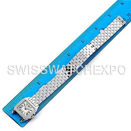 5240 Cartier Santos Demoiselle Steel Ladies Watch W25064Z5 SwissWatchExpo