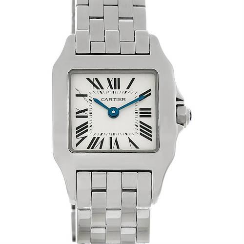 Photo of Cartier Santos Demoiselle Steel Ladies Watch W25064Z5
