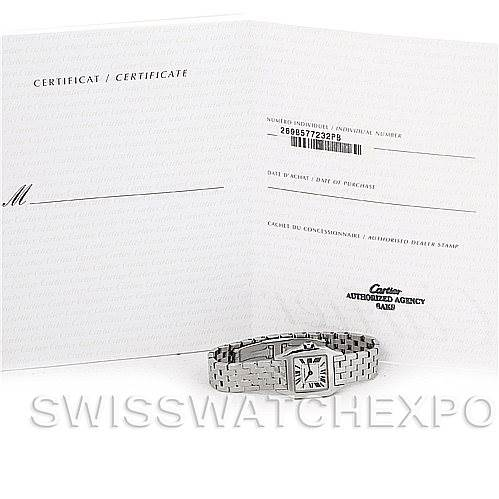 5635 Cartier Santos Demoiselle Steel Ladies Watch W25064Z5 SwissWatchExpo