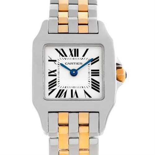 Photo of Cartier Santos Demoiselle Steel Yellow Gold Watch W25066Z6