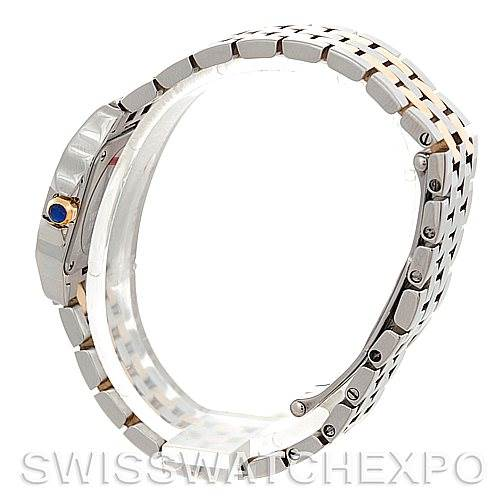 5791 Cartier Santos Demoiselle Steel Yellow Gold Watch W25066Z6 SwissWatchExpo