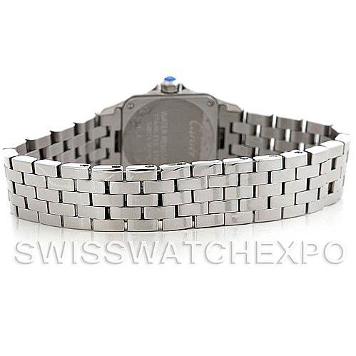 5810 Cartier Santos Demoiselle Steel Ladies Watch W25064Z5 SwissWatchExpo