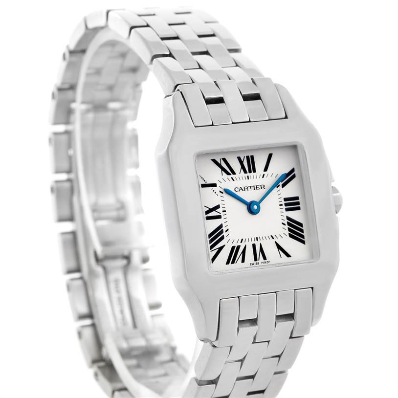 5806 Cartier Santos Demoiselle Stainless Steel Midsize Watch W25065Z5 SwissWatchExpo