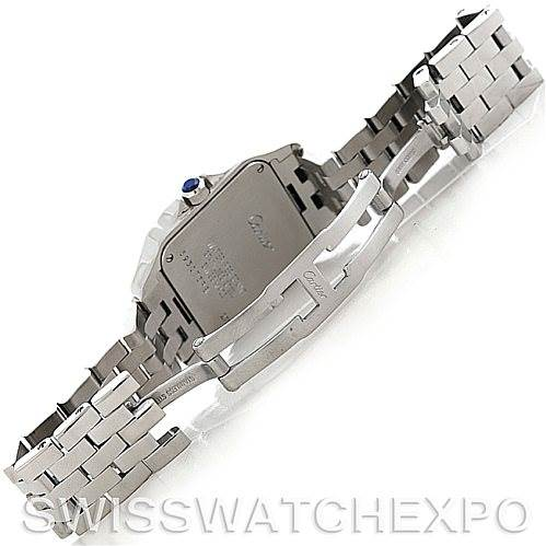 5886 Cartier Santos Demoiselle Steel Midsize Watch W25065Z5 SwissWatchExpo