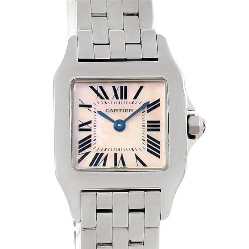 Photo of Cartier Santos Demoiselle Steel Ladies Watch W25075Z5