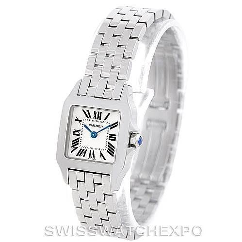 7029 Cartier Santos Demoiselle Steel Ladies Watch W25064Z5 SwissWatchExpo