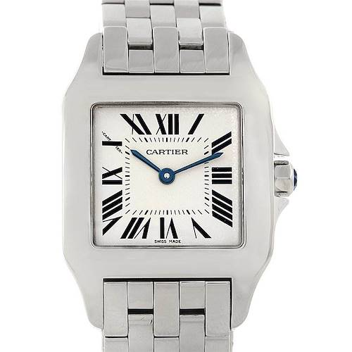 Photo of Cartier Santos Demoiselle Steel Midsize Watch W25065Z5