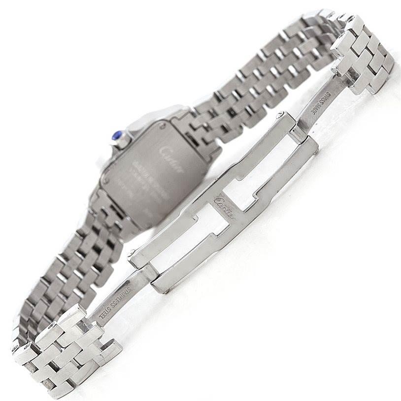 7021 Cartier Santos Demoiselle Steel Ladies Watch W25064Z5 SwissWatchExpo
