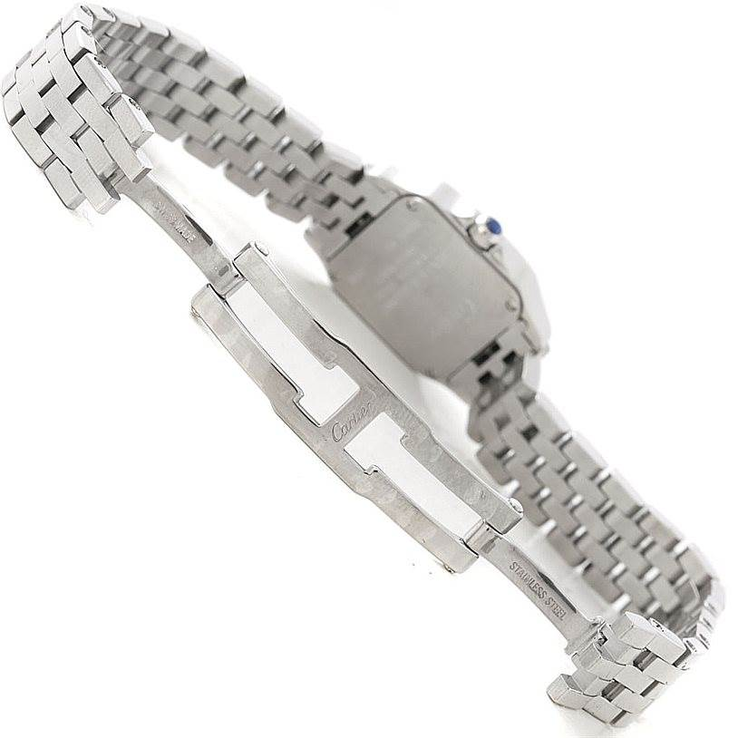 7338 Cartier Santos Demoiselle Steel Ladies Watch W25064Z5 SwissWatchExpo
