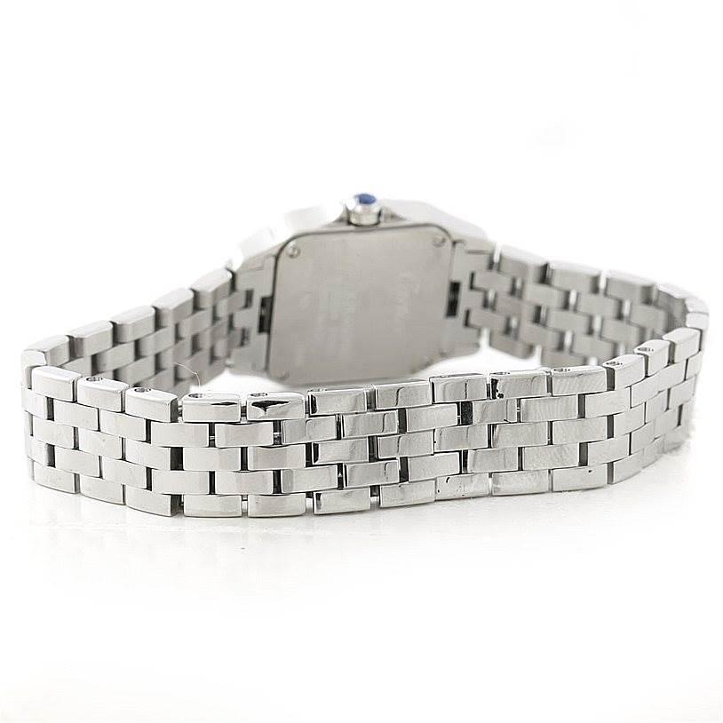 7338 Cartier Santos Demoiselle Steel Ladies Watch W25064Z5 SwissWatchExpo