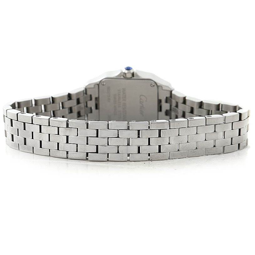 8047 Cartier Santos Demoiselle Steel Ladies Watch W25064Z5 SwissWatchExpo