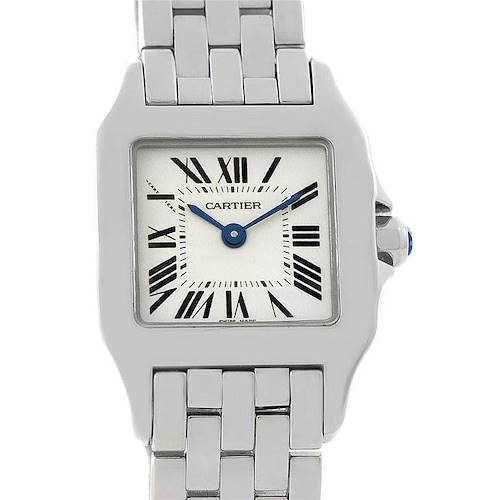 Photo of Cartier Santos Demoiselle Steel Ladies Watch W25064Z5